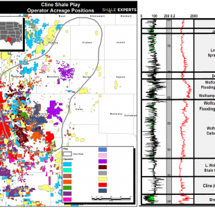 Cline Shale News Companies Maps Operators Counties