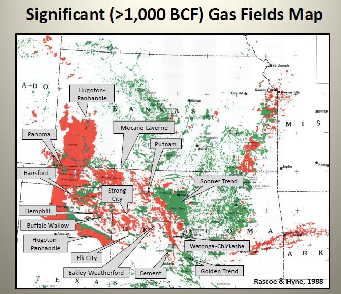 Anadarko Basin Overview Maps Geology Counties