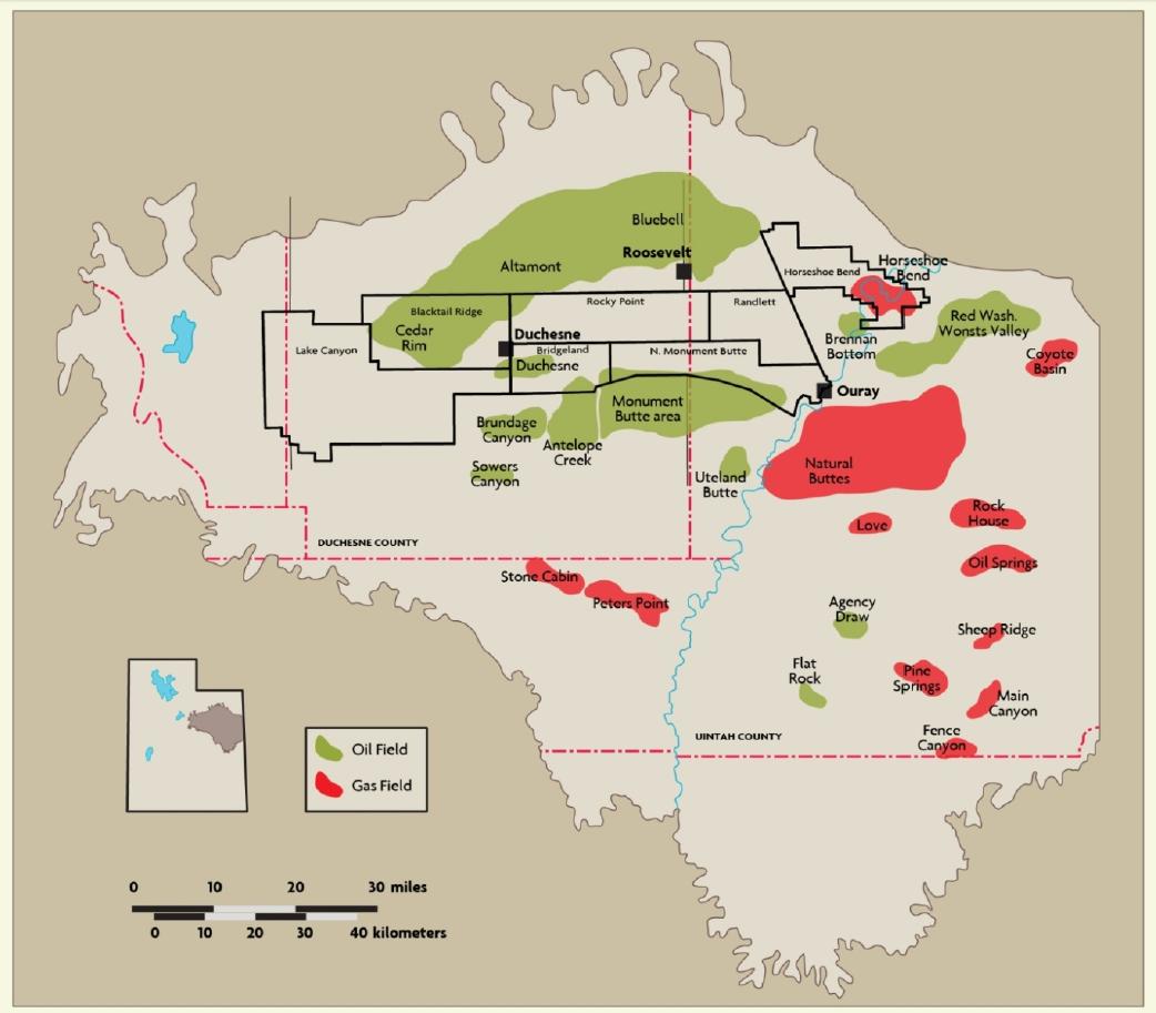 Island Lake Uintas Map