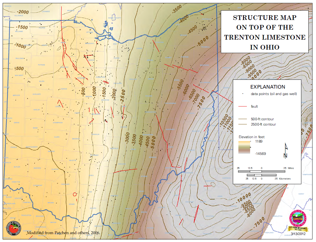 Utica Shale Overview Maps Geology Counties - Utica shale map